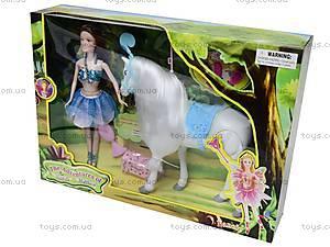 Кукла «Фея» с лошадью, NM588908-7