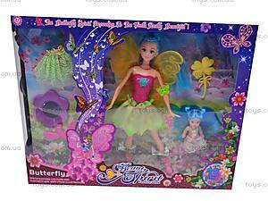 Кукла Фея с платьем, 8618, цена