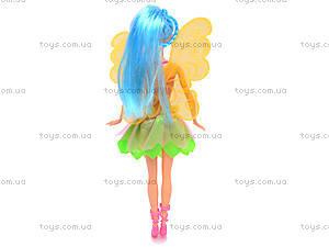Кукла Фея с платьем, 8618, детские игрушки