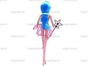 Кукла «Фея», с расческой, 36029, купить