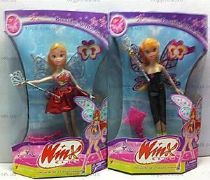 Кукла-фея Winx, с аксессуарами, 3666