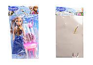 Frozen-кукла, 2 вида с трюмо и стульчиком, 3219A, фото