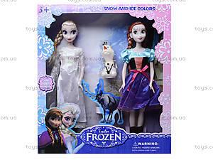 Набор кукол Frozen, 3107, детские игрушки