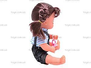 Кукла функциональная с горшком, 30700D28, купить