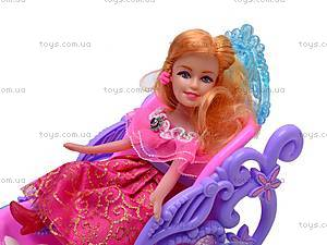 Кукла Funny, с каретой, 0058, купить