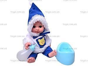 Кукла говорящая «Малышки» с аксессуарами, 13007-1A, купить