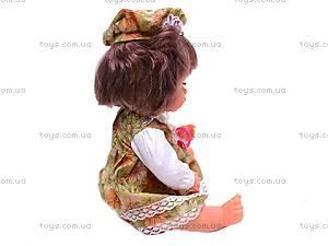 Кукла интерактивная для девочки, 30700E4, цена