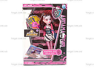 Кукла из серии Monster High, D216, детские игрушки