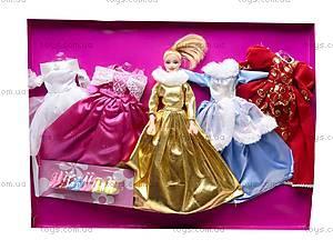 Кукла Jennifer, с платьями, 888A/B, детские игрушки
