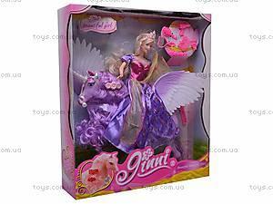 Кукла Jinni с единорогом, 83189, купить