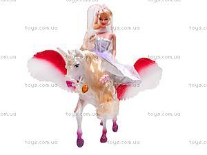 Кукла Jinni, с единорогом, 83114