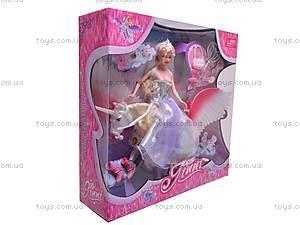 Кукла Jinni, с единорогом, 83114, магазин игрушек