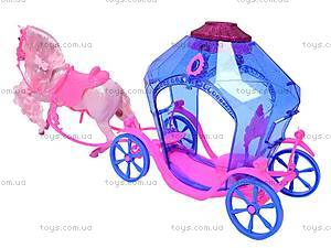Кукла Jinni с каретой и лошадью, 83142, цена