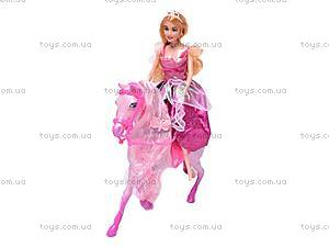 Кукла Jinni с каретой и лошадью, 83142, магазин игрушек