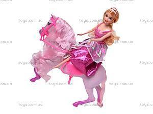 Кукла Jinni с каретой и лошадью, 83142, toys.com.ua