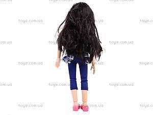 Кукла Jinni, с расческой, 63061, оптом