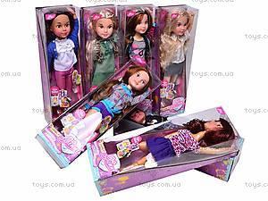 Кукла Jinni, с расческой, 63061