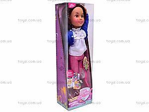 Кукла Jinni, с расческой, 63061, детские игрушки