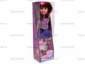 Кукла Jinni, с расческой, 63061, іграшки