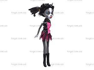 Кукла-кошка типа «Monster High», KQ004-A, фото
