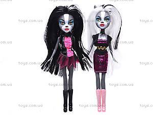 Кукла-кошка типа «Monster High», KQ004-A