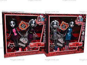 Кукла-кошка типа «Monster High», KQ004-A, детские игрушки