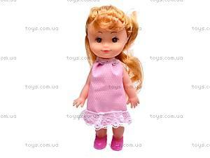 Кукла «Крошка Сью», в платье, 5066