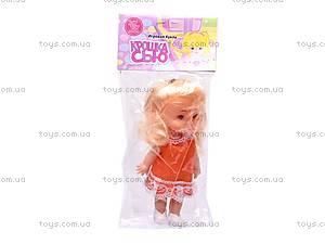 Кукла «Крошка Сью», в платье, 5066, игрушки