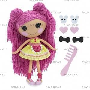 Кукла Lalaloopsy Печенюшка-Сладкоежка серии «Кудряшки-симпатяшки», 531494