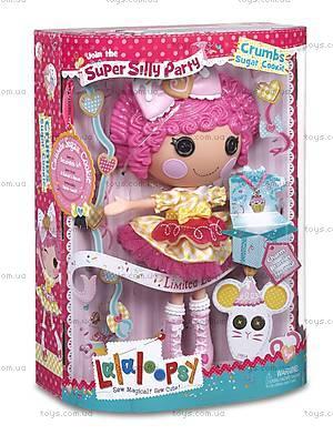 Кукла Lalaloopsy «Печенюшка-сладкоежка» серии Lalabration, 536222, детские игрушки