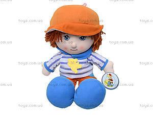 Детская музыкальная кукла - мальчик, R2314, фото