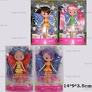 Кукла «Маленькая Фея», с крыльями, 8823-I/J/K/L