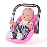 Кукла «Малыш» с переноской, PU12, детские игрушки