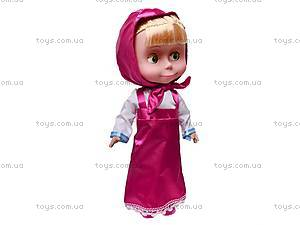 Кукла «Маша и медведь», говорит 6 фраз, 60942, цена