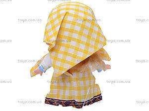Кукла «Маша», в желтом платье, CQS22D, фото