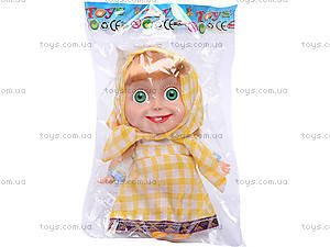 Кукла «Маша», в желтом платье, CQS22D, отзывы