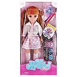 Кукла «Maylla: школьница» со школьными принадлежностями, 88112, фото