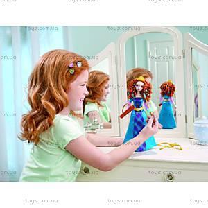 Кукла Мерида «Цветные волосы» серии «Отважная», Y8214, фото