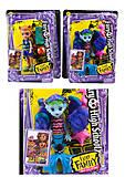 Kуклa «Monster High» (4 вида, с аксессуарами), DH2183, фото