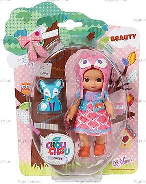 Кукла Mini Chou Chou Бьюти серии «Лисички», 920329