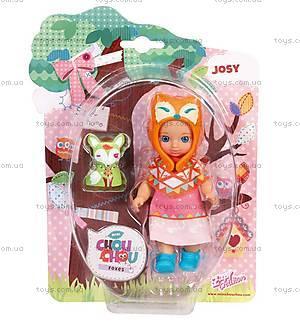 Кукла Mini Chou Chou Джози серии «Лисички», 920367, купить