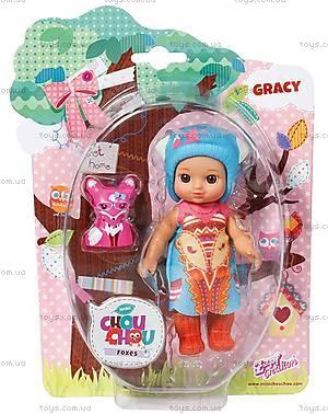 Кукла Mini Chou Chou Грейси серии «Лисички», 920343