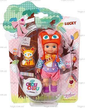 Кукла Mini Chou Chou Лакки серии «Лисички», 920336, фото