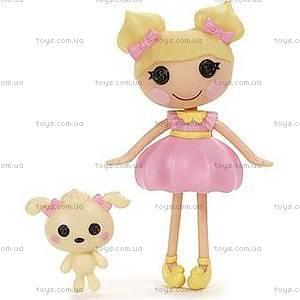 Кукла Mini Lalaloopsy Ванилина из серии «Королевство сладостей», 520443