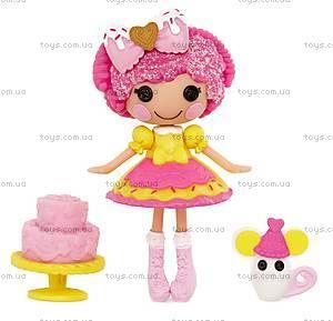 Кукла Minilalaloopsy «Печенюшка-сладкоежка» серии Lalabration, 536246