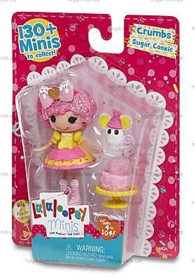 Кукла Minilalaloopsy «Печенюшка-сладкоежка» серии Lalabration, 536246, купить