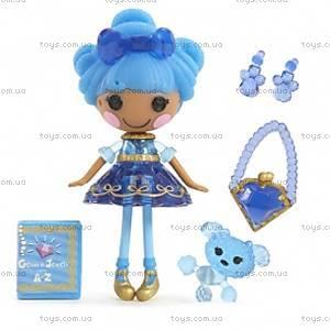 Кукла Minilalaloopsy Сапфир серии «Принцессы-самоцветы», 529736