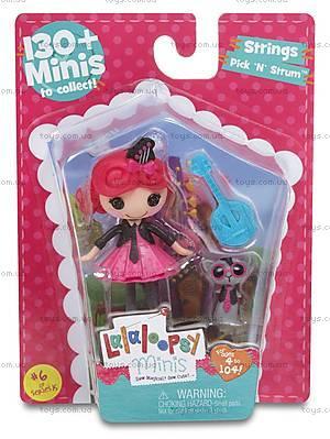 Кукла Джазгёл Minilalaloopsy серии «В мире музыки», 534013, купить
