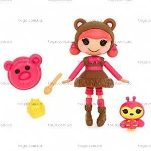 Кукла Minilalaloopsy Сладкоежка Тедди серии «Забавные пуговки», 527268