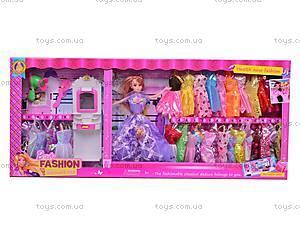 Кукла-модница с аксессуарами, 6611B, фото